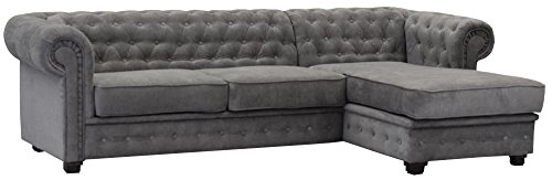 Sofas and More Chesterfield Style Corner Sofa
