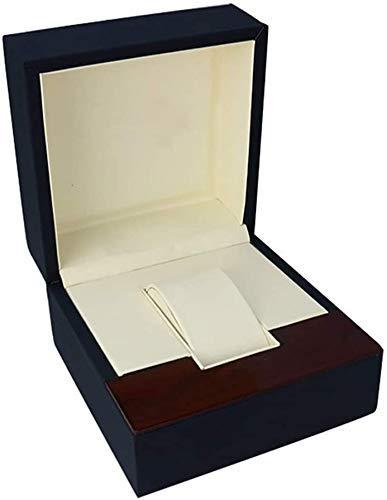 Chunjiao Guarda pelle PU singolo orologio del braccialetto dei monili Supporto di caso di esposizione con il piccolo cuscino da polso for gli uomini donne unisex regalo Griglia singolo for i regali fo