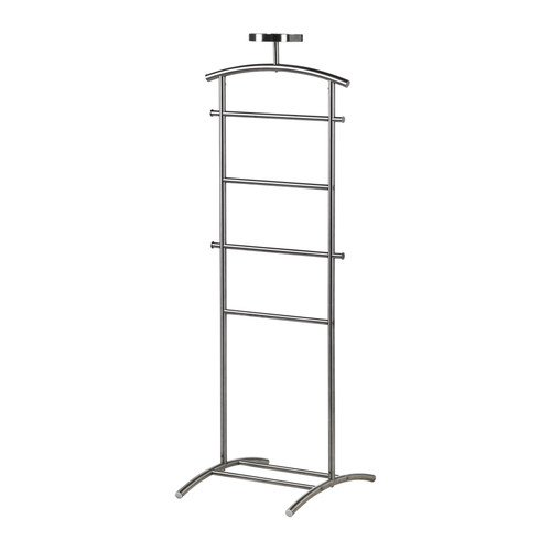 Ikea GRUNDTAL Herrendiener, Edelstahl, 128 cm