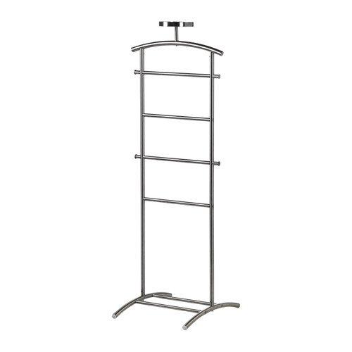 Perchero de pie de acero inoxidable de IKEA grundtal