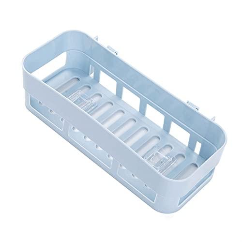 PPCERY Accesorios de baño Estantería de Pared Estanterías de baño Muro Corner Organizador Ducha Shampoo Holder Hueso Succión de succión Rack (Color : Style 1)