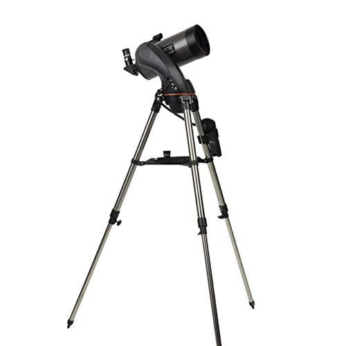 SYWJ Telescopio Digital HD Telescopio, versión astronómica Profesional 127MM HD Lente óptica Totalmente recubierta, telescopio trípode portátil de búsqueda automática de Estrellas
