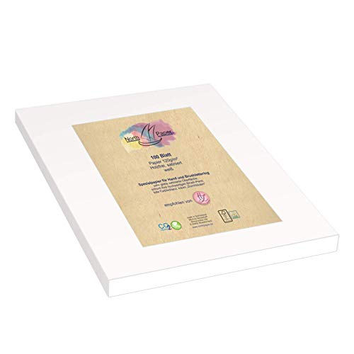 Northpaper - Brush-Handlettering Papier-Paper 100 Blatt A4 satiniertes Spezialpapier (100)