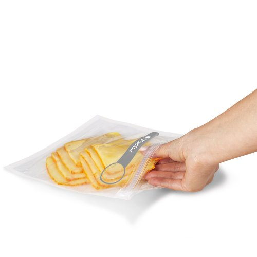FoodSaver 1-Gallon Vacuum Zipper Bags, 12 Count, Multi