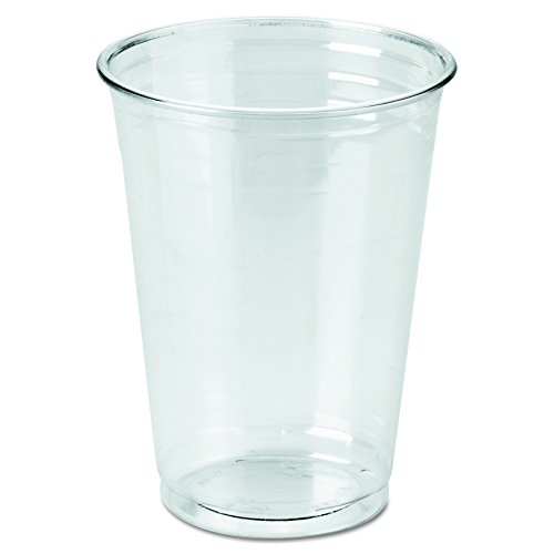 Dixie Crystal Clear Plastic Cups, 10 oz cup