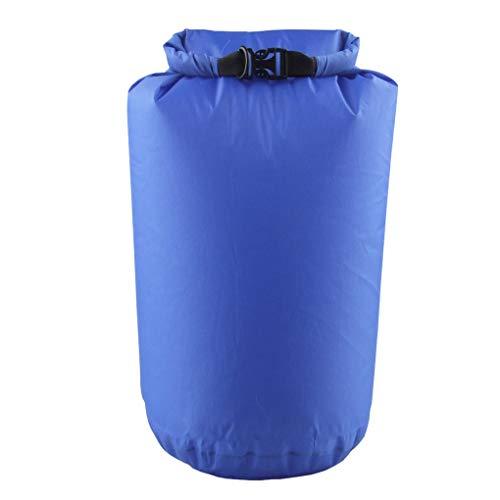 rongweiwang Bolso seco a Prueba de Agua Rollo de la compresión Seca de la Bolsa Seca del Bolso de la Bolsa para el balanceo del balanceo Que Camina el Camping 8L
