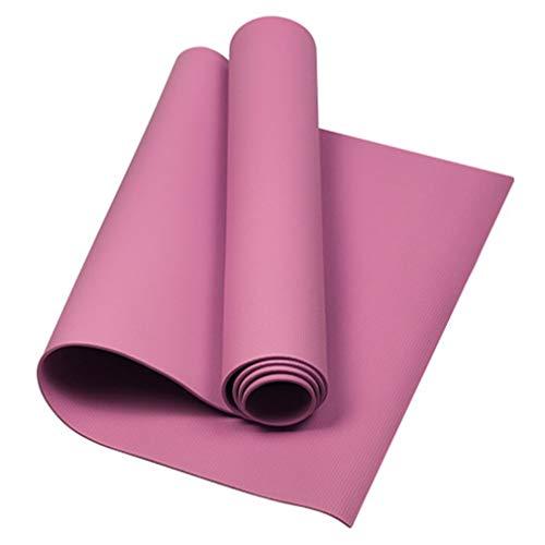 Tappetino da yoga da 4 mm, resistente e antiscivolo, per palestra e palestra