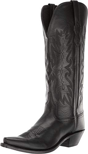 Old West Boots Chloe Black 6.5 B (M)