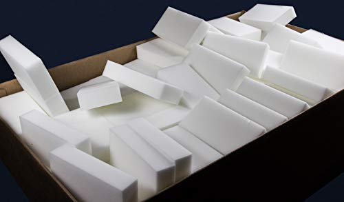 InstantErase Sponges (300 Pack) - Compare to The Mr. Clean Magic Eraser (NOT Cheap Chinese Knock-Offs) Use On All Surfaces - Kitchen, Bathroom, Furniture, Baseboards, Cars and More!
