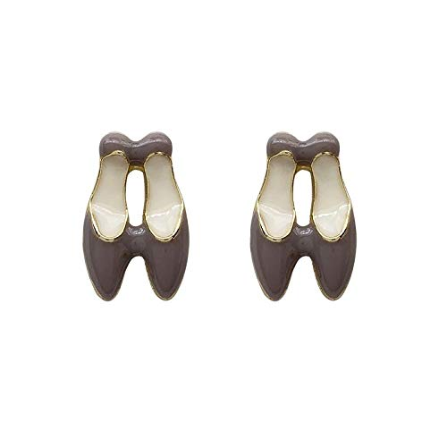 Xlin Pendientes S925 Silver Aguja Intereses Simples Pendientes Pendientes Pendientes Pendientes Pendientes Pendientes Pendientes (Color : Pink Ear Studs)