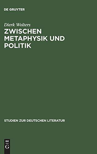 Zwischen Metaphysik und Politik: Thomas Manns Roman »Joseph und seine Brüder« in seiner Zeit (Studien zur deutschen Literatur, Band 147)