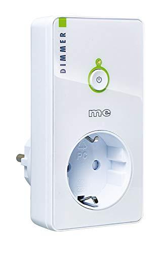 Funk-Steckdose Dimmer CR-D300 für Schalter-System CUVEO, Farbe weiß