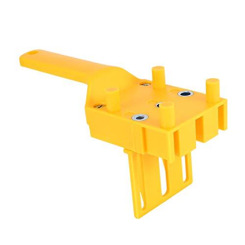 Bnwoinb Barrilete de Espiga de La Carpintería 6 8 10Mm Guía de Taladro Manguito de Metal Taladro de Agujero de Junta de Pin de Madera de Mano Ht2514