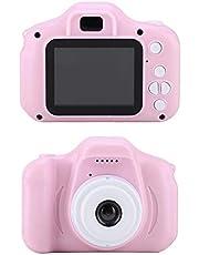 Full HD-camera voor kinderen, X2 Mini Portable 2.0 inch IPS-kleurenscherm Digitale camera voor kinderen HD 1080P-camera, Digitale zoom, Schokbestendig, Veilig voor kinderen, Fotocamera(#2)