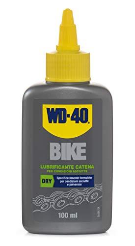 WD-40 Bike - Lubrificante Catena Bici e MTB per Condizioni Asciutte e Polverose Formula con PTFE - 100 ml