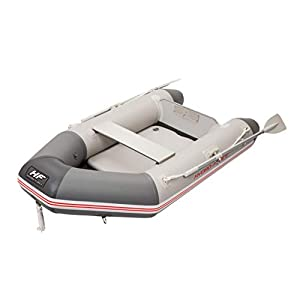 Bestway 65046 Hydro-Force Caspian 230x130x33 cm Sport Boat Set, Multicoloured