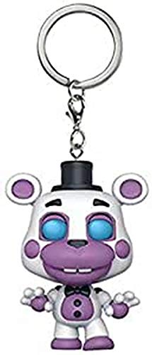 Funko Pop Keychain: Five Nights at Freddy's Pizza Simulator - Helpy Collectible Figure, Multicolor