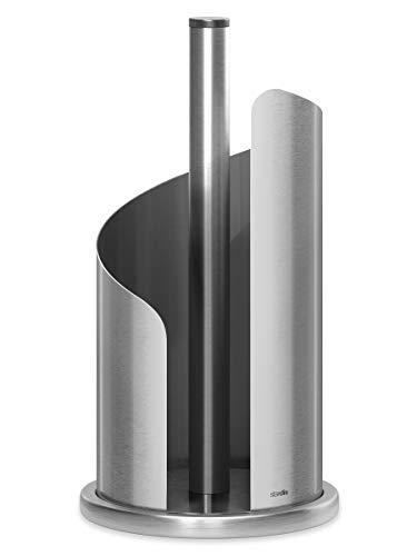 stardis Küchenrollenhalter fingerabdruckresistent Edelstahl/matt gebürstet Rollenhalter (Edelstahl matt)