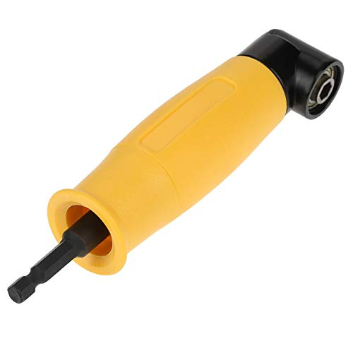 90 Degree Angle Extension, 90° Angle Hex Shank Extension Screwdriver Drill Bit Socket Holder Adapter Sleeve