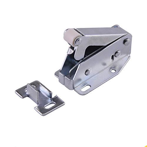 Componente de muebles 1 unids gabinete puerta táctil interruptor de resorte de la puerta magnética de la puerta de la puerta del vestuario del arcano de hierro del hardware del hardware del hardware A