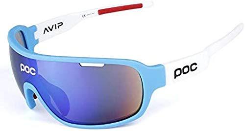 EEUK Outdoors Riding Half Frame Polarized Sports Glasses/Sunglasses, Go Wind and Sandy Radi.