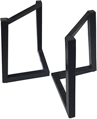 ZXLRH 2 Patas de Mesa de Metal, 68 cm de Altura, Patas de Muebles con Estructura en V industriales Ajustables, pies de Mesa de Centro de Hierro, Escritorio, Barra de Desayuno, Carga 500 kg