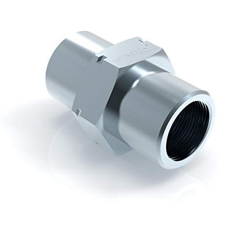 6x Verbinder M10 x 1 für Bremsleitung 4,75 mm Bördel E Typ ODD Profi Bremsleitungsverbinder DIN/ISO 1651 konform