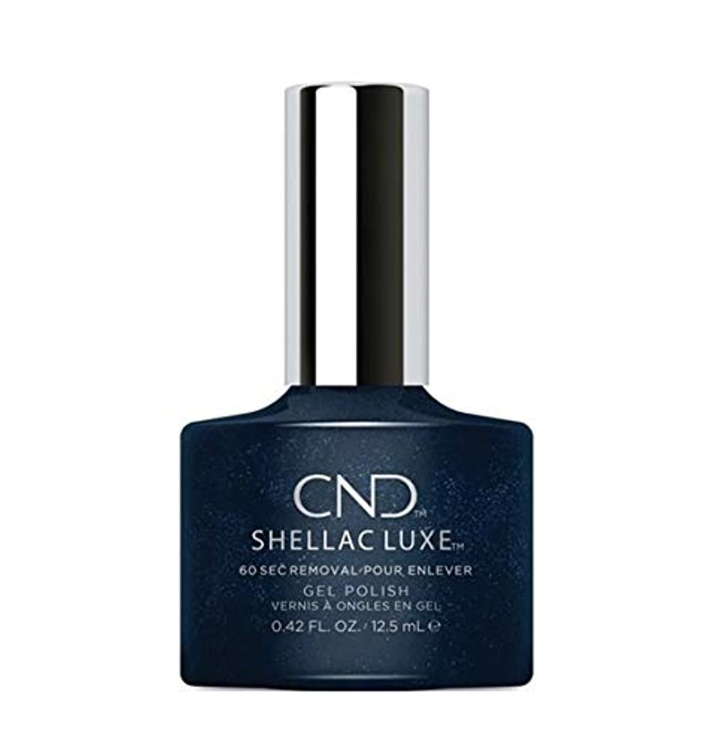 回復する着るできないCND Shellac Luxe - Midnight Swim - 12.5 ml / 0.42 oz