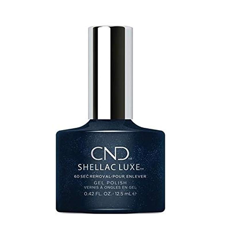 光沢のある許される割れ目CND Shellac Luxe - Midnight Swim - 12.5 ml / 0.42 oz