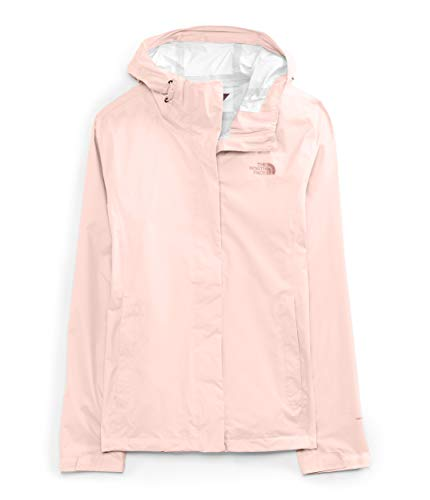 The North Face Women's Venture 2 Jacket, Pearl Blush, XXL