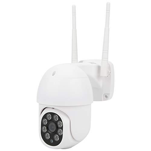 Cámara Cámara de vigilancia Cámara de seguridad Cámara De Seguridad, 1080p WiFi PTZ Cámara IP66 Detección De Movimiento A Prueba De Agua Detección De La Noche De Intercomunicación De 2 Vías SISTEMA DE