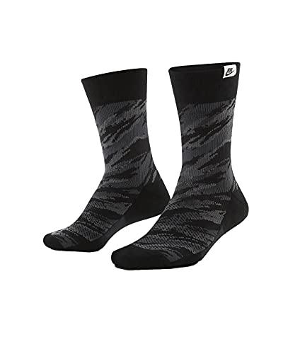 Nike SNKR Camo Crew Socks Socken 2er Pack (M, black)