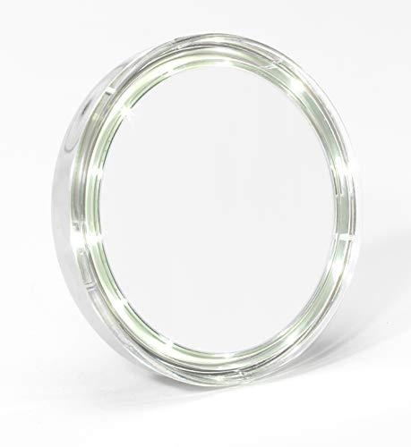 ZINGUS Miroir LED Portable DIAMETRE 13 mm GROSSISSEMENT par 5 Fois