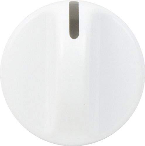 Frigidaire 131965300 Rotary Knob, White