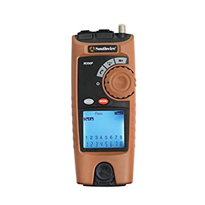Southwire Tools & Equipment M300P Professional VDV Low Voltage Cable Mapper tool kit, Network Cable Tester, Network tester for testing voice, data, and video products, Ethernet tester and RJ45 tester
