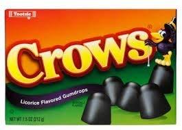 Tootsie Crows Licorice - Gotas con sabor (2 unidades)