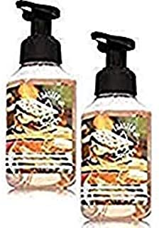 Bath and Body Works 2 Pack Foaming Hand Soap Toasted S'mores. 8.75 Oz
