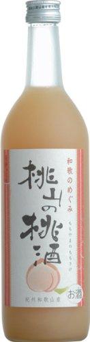 世界一統『和歌のめぐみ 桃山の桃酒』