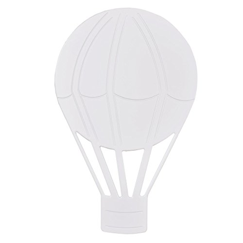 Bainba Aplique de Pared Globo E27, Blanco, 30 x 48 cm