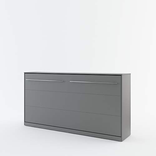 BIM Furniture Concept PRO - Cama plegable de pared, color gris