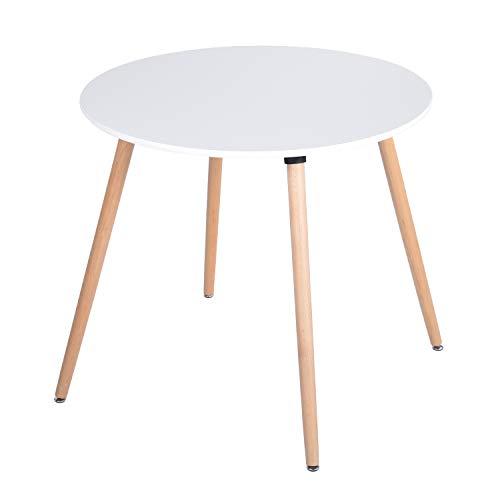 mesa blanca de la marca HOMEMAKE FURNITURE