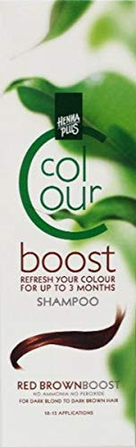 Henna Plus Colour Boost Rood Brown, 200 Ml