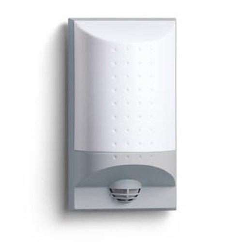 Steinel LED Wandleuchte mit Bewegungsmelder inklusive Hausnummer-Bogen/grau / IP44 4095
