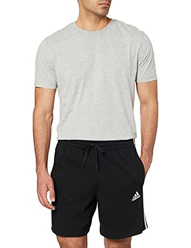 adidas M 3s Sj SHO – Pantaloncini da Uomo, Uomo, Pantalone Corto, GK9988, Nero/Bianco, XS