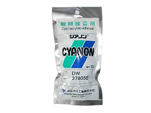 瞬間接着剤シアノン DW 20g