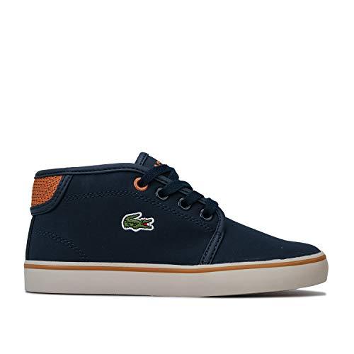 Lacoste Ampthill Kinder Sneaker Navy
