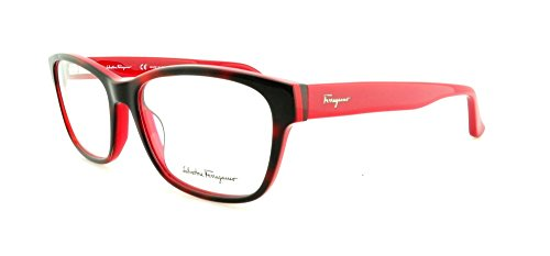 Ferragamo SF2692 rechthoekig brilmontuur 56, rood