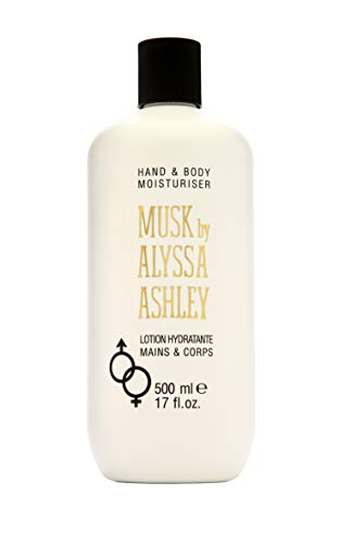 Alyssa Ashley 73703 Musk Hand en Body Lotion, 500 ml