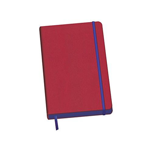 Dohe 10678 - Edge, cuaderno Vesta A5, color rojo