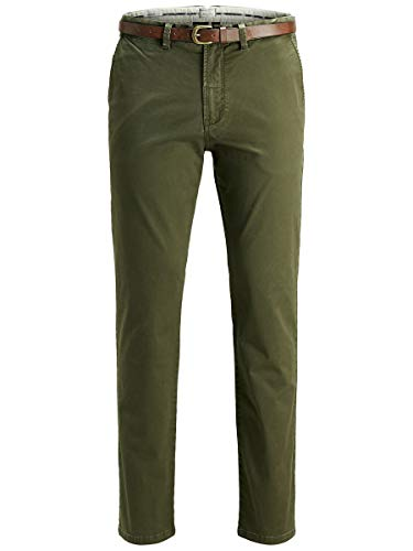 JACK & JONES Herren JJICODY JJSPENCER WW Olive Night NOOS Hose, W32/L34 (Herstellergröße: 32)